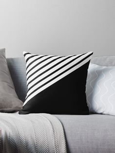 abstract black lines Sewing Pillows, Diy Pillows, Throw Pillows, Throw Pillow Cases, Cushion Cover Designs, Cushion Covers, Pillow Covers, Decorative Cushions, Scatter Cushions
