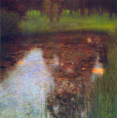 The Marsh by Gustav Klimt Giclee Fine Art Print Reproduction on Canvas
