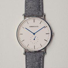 Fancy - Silver & White Watch by Rossling & Co.