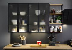 Modern And Trendy Kitchen Cabinets Ideas And Design Tips – Home Dcorz Home Decor Kitchen, Interior, Grey Kitchen Designs, Kitchen Decor, Home Decor, Modern Grey Kitchen, Kitchen Cupboard Doors, Interior Design, Rustic Kitchen