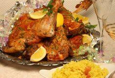Frango Tandoori, Tandoori Chicken, Meat, Cooking, Ethnic Recipes, Roasts, Food Cakes, Lamb, Tasty