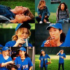"Drinking playing baseball?!!!"""