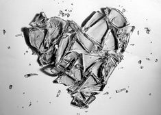 Pencil Sketches of Hearts | Broken Heart... by PEPEi on deviantART