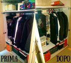 armadio ingresso giacche e sciarpe