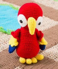 Parrot Pals Crochet Pattern | Red Heart