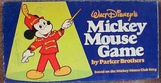 Mickey Mouse Game on BoardGameGeek own