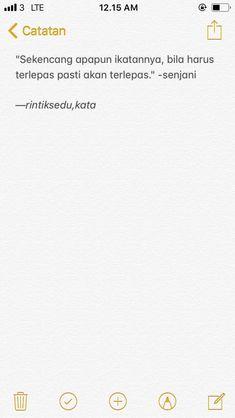- #quotesindonesiatumblr - #QuotesIndonesia Quotes Rindu, Story Quotes, Tumblr Quotes, Text Quotes, Mood Quotes, Motivational Quotes, Funny Quotes, Life Quotes, Citations Instagram