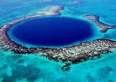The great blue hole belize - WOW!