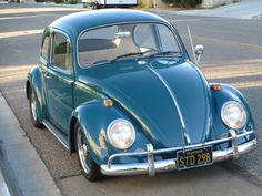 This Sea Blue 1966 Volkswagen Beetle features a number of driver-friendly modifications that should make ita lot of fun on the street. Though low, this car is not excessively slammed, and we think it looks great over BRM wheels. Find it here on The Sambain Apple Valley, California for $10,500 OBO.