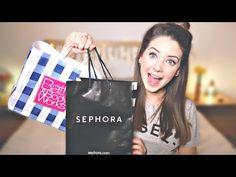 America Haul | Sephora, Bath & Body Works & Sweets | Zoella - YouTube