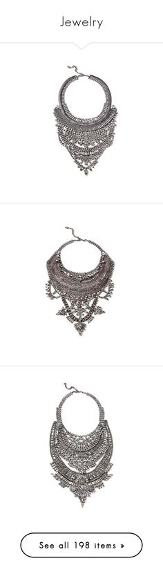 """""""Jewelry"""" by thailibarrios-1 ❤ liked on Polyvore featuring jewelry, necklaces, swarovski crystal necklace, woven necklace, vintage style jewelry, swarovski crystal jewelry, rock jewelry, colares, accessories and stuff"""