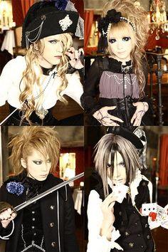 Versailles - KAMIJO, Hizaki, Yuki & Teru