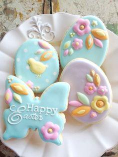 Pretty cookies.