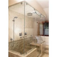 Frameless Shower and