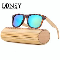 $5.92 (Buy here: https://alitems.com/g/1e8d114494ebda23ff8b16525dc3e8/?i=5&ulp=https%3A%2F%2Fwww.aliexpress.com%2Fitem%2F2015-Fashion-Bamboo-sunglasses-Men-Wooden-Sunglasses-Women-Brand-Designer-oculos-de-sol-feminino-Free-shipping%2F32464051860.html ) 2016 Vintage Bamboo Sunglasses Women Men Polarized Sunglasses Mirror UV400 Wood Glasses oculos de sol feminino LS5003 for just $5.92
