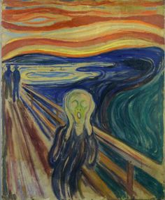 Edvard Munch: Der Schrei, 1910
