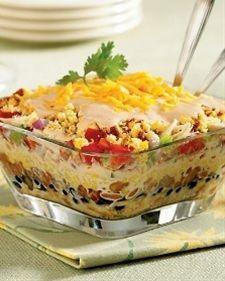 Southwestern Chicken Cornbread Salad   Martha Stewart