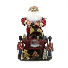 You'll love the Santa Claus the Toy Maker with Work Station Christmas Decoration at Wayfair - Great Deals on all Décor & Pillows products with Free Shipping on most stuff, even the big stuff.