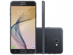 "Smartphone Samsung Galaxy J7 Prime 32GB Preto - Dual Chip 4G Câm 13MP + Selfie 8MP Flash Tela 5.5"""