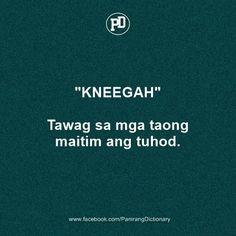 Tagalog Quotes Funny, Tagalog Quotes Hugot Funny, Tagalog Words, Pinoy Quotes, Funny Quotes About Life, Filipino Quotes, Filipino Funny, Funny Hugot, Hugot Lines Tagalog