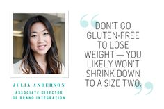 Good info if you want to know about gluten-free diets.