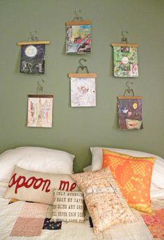 Seattle, WA: Brandon and Rebecca - eclectic - bedroom - seattle - Sarah Greenman