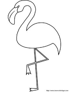 Free Birds Flamingo Coloring Pages