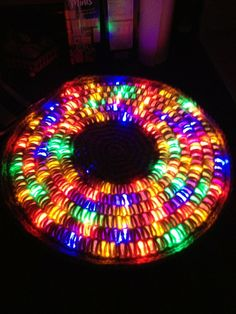 Crochet around Rope Light | Colorful Crochet around a rope light! | Movies worth a second watch ...