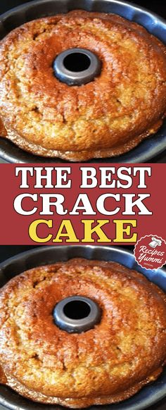 The Best Crack Cake - Yummy Recipes Just Desserts, Delicious Desserts, Yummy Food, Healthy Food, Bunt Cakes, Cupcake Cakes, Cupcakes, Dump Cake Recipes, Dessert Recipes