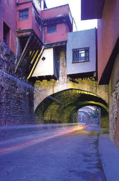 Guanajuato has very unique bridges and passings. All just beautiful!