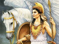 Wich Greek God are you? Athena! Alright, gotta tell it to my Percy Jackson fangirl friend.