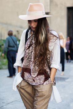 The Sartorialist / Dries Van Noten Part II, Paris // #Fashion, #FashionBlog…