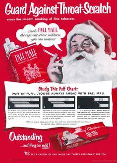 10 Crazy Old Christmas Ads - Oddee.com (vintage christmas ads)