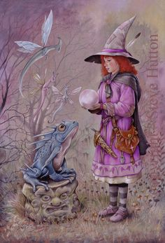 Rebecca Parsley - Wildwood Witches -Art by Steve Hutton