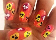 Ideas Para Decorar Tus Uñas III : Halloween