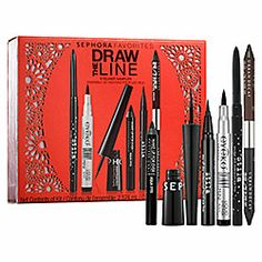 Sephora Favorites - Draw The Line  #sephora Don't wear it everyday b/c most are  SO time consuming,  (well, Id wear makeup everyday either....working on that) BUT I LOVE a deal & these are great brands! Hope they ROCK :) !