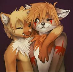 """yourpocketfox: """" A super nice fur, new to the fandom just started up his first blog. Go check it out to see some clean furry art by others, and himself! """""""