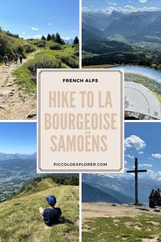 La Bourgeoise Samoëns Hike, French Alps - Haute-Savoie Hiking