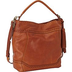 Isabella Fiore Whipped Hobo - Brandy - via eBags.com!