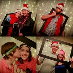 AT THE PARK'S: Homemade Photo Booth and Props