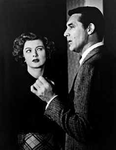 """Myrna Loy and Cary Grant from """"Mr. Blandings Builds His Dream House"""" (1948)"""