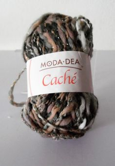 1 oz ball of Polyester bulky yarn by Moda Dea in Serengeti-a variegated yarn including browns, grays and white. Cheap Yarn, Yarn Colors, Grey And White, Color Mixing, Wool Blend, Etsy