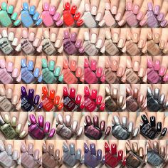 Barry M 2016 Nail Polish Releases by Barry M Nail Polish, Barry M Nails, Nails 2016, Collages, Collage