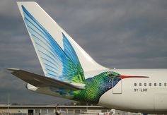Caribbean Airlines - 9Y-LHR tail by Andrew_Simpson, via Flickr