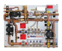 Radiant Floor Heating system information Hydronic Radiant Floor Heating, Hydronic Heating, Underfloor Heating, Pex Plumbing, Heating And Plumbing, Floor Design, House Design, Radiant Heat, Home Repairs