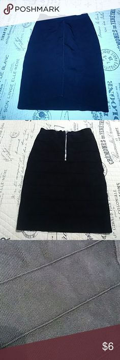 Xs Bebe black bandage skirt. Super hot... Very sexy. Unfortunately I grew out of it. Clubwear. Skirt is definitely slimming. bebe Skirts Mini