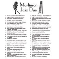 #Jazz Songs for #Wedding #Receptions. Brunch Trend | Diane Martinson Duo & Trio Song List, MN. Live Music.