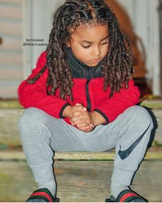 LocNationTheMovement : Tag a dope mom or dope kid with locs! Dreadlock Hairstyles For Men, Baby Boy Hairstyles, Cute Hairstyles For Kids, Braid Hairstyles, Baby Boy Swag, Kid Swag, Beautiful Black Babies, Beautiful Children, Baby Boy Fashion