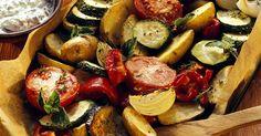 Ofengemüse ist ein Rezept mit frischen Zutaten aus der Kategorie Gemüse. Probieren Sie dieses und weitere Rezepte von EAT SMARTER!