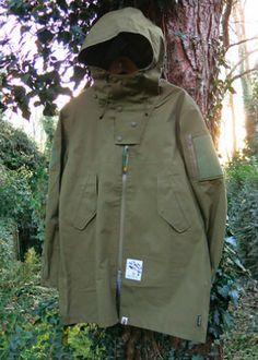 Bape Gore-Tex Woven Rip Stop Army Coat